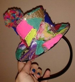 DIY Clown Hat