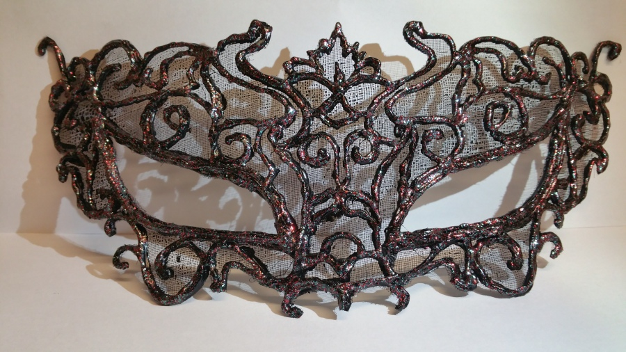 Masquerade Mask made from nothing butglue!!