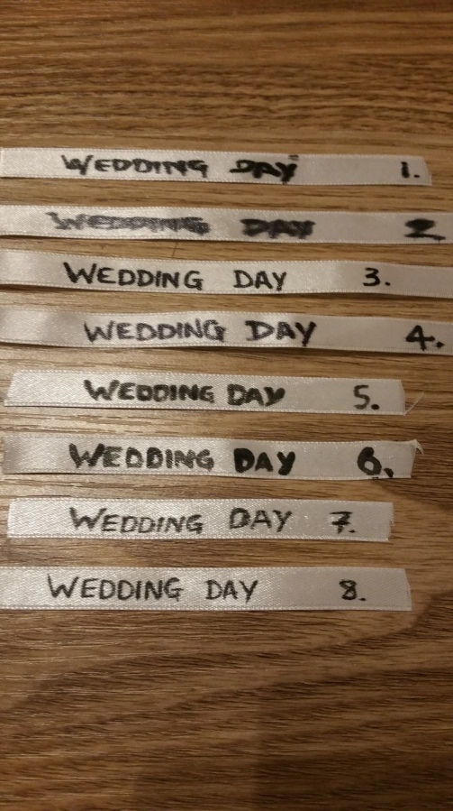 Best Ways for Writing on Ribbon – Wedding